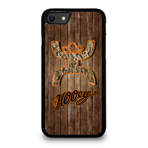 COMO HOOEY WOODEN LOGO iPhone SE 2020 Case Cover
