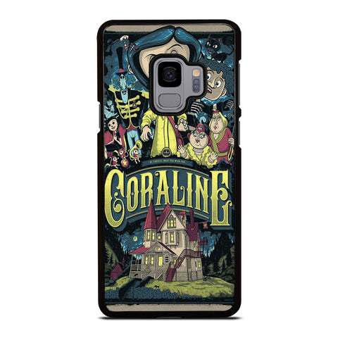 CORALINE CARTOON Samsung Galaxy S9 Case Cover