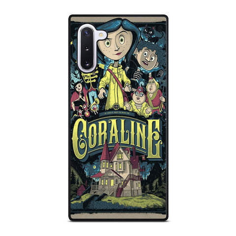 CORALINE CARTOON Samsung Galaxy Note 10 Case Cover