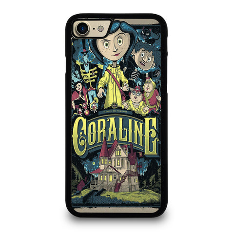 CORALINE CARTOON iPhone 7 / 8 Case Cover