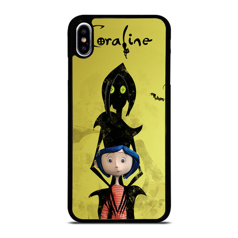 CORALINE CARTOON MOVIE iPhone XS Max Case Cover