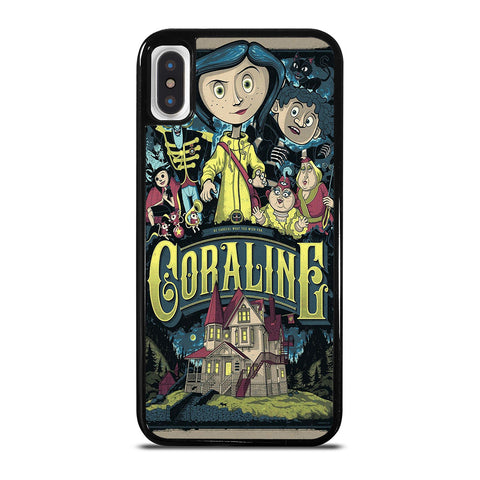 CORALINE CARTOON iPhone X / XS Case Cover