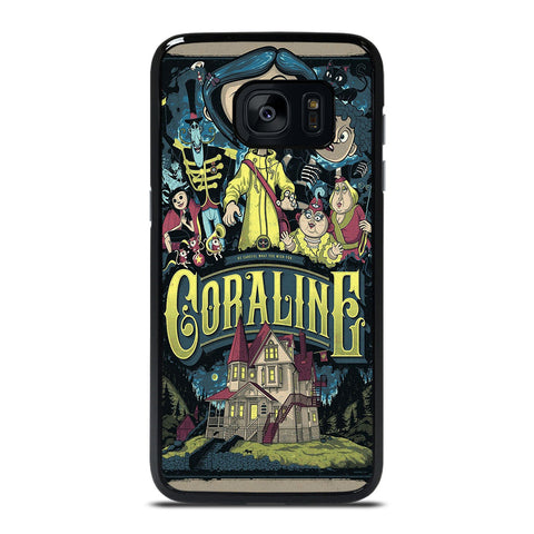 CORALINE CARTOON Samsung Galaxy S7 Edge Case Cover