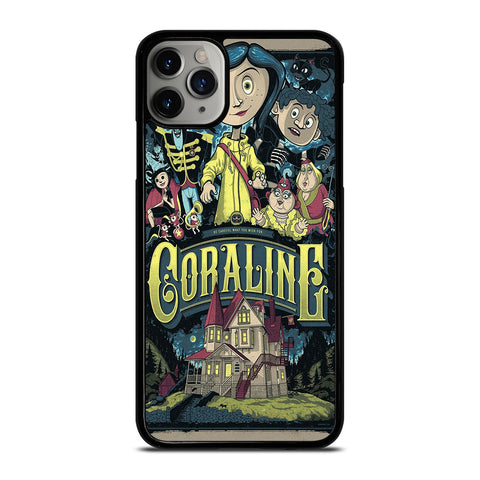 CORALINE CARTOON iPhone 11 Pro Max Case Cover