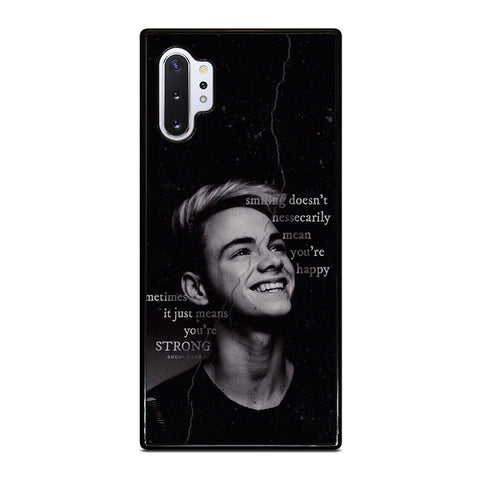 CORBYN BESSON WHY DON'T WE QUOTES Samsung Galaxy Note 10 Plus Case Cover