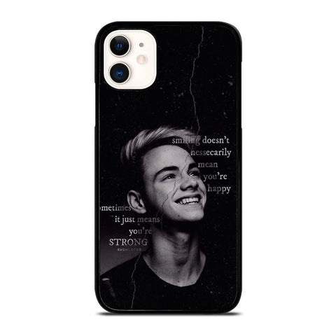 CORBYN BESSON WHY DON'T WE QUOTES iPhone 11 Case Cover