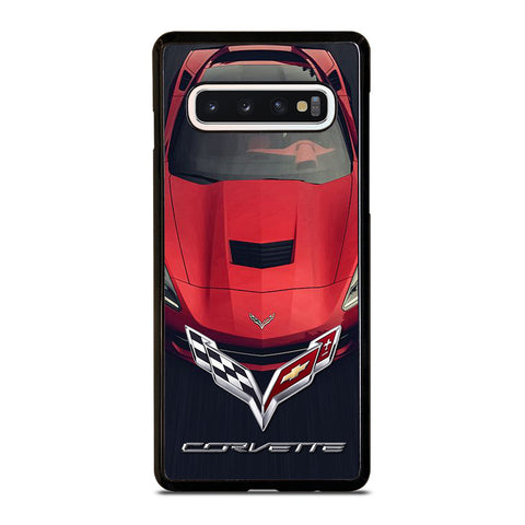 CORVETTE CAR RED LOGO Samsung Galaxy S10 Case Cover