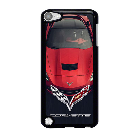 CORVETTE CAR RED LOGO iPod Touch 5 Case