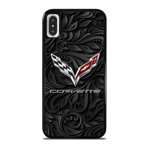CORVETTE CHEVY SYMBOL iPhone X / XS Case Cover