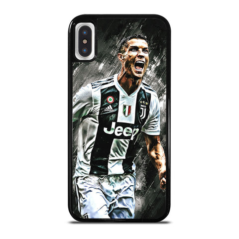 CR7 CRISTIANO RONALDO JUVENTUS FC iPhone X / XS Case Cover