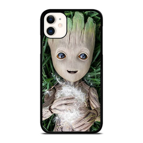 CUTE BABY GROOT iPhone 11 Case Cover