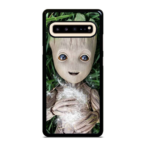 CUTE BABY GROOT Samsung Galaxy S10 5G Case Cover
