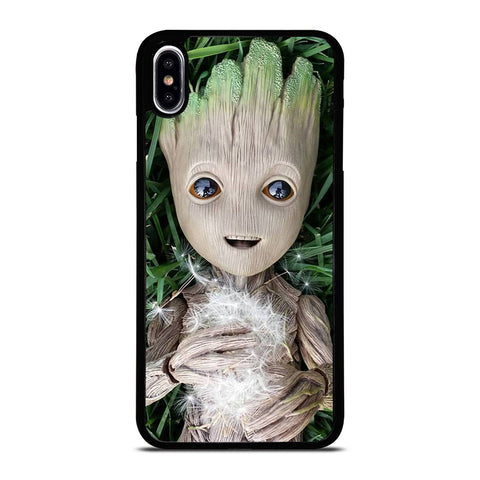 CUTE BABY GROOT iPhone XS Max Case Cover