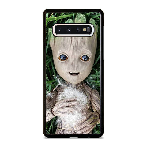 CUTE BABY GROOT Samsung Galaxy S10 Case Cover