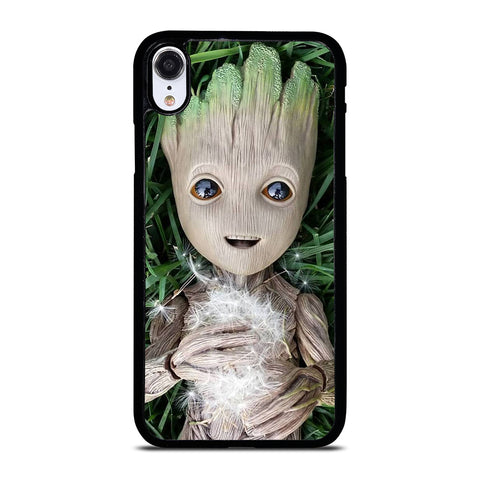CUTE BABY GROOT iPhone XR Case Cover