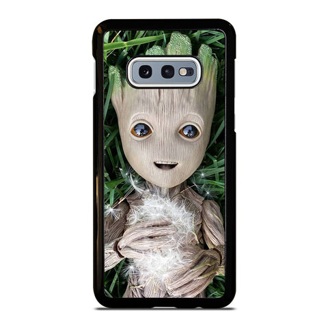 CUTE BABY GROOT Samsung Galaxy S10e Case Cover