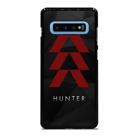 DESTINY HUNTER LOGO BLACK Samsung Galaxy S10 Plus Case Cover