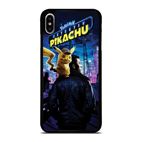 DETECTIVE PIKACHU POKEMON 2 iPhone XS Max Case Cover