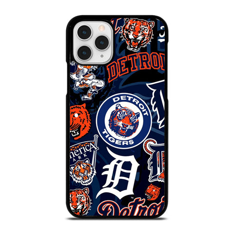 DETROIT TIGERS BASEBALL COLLAGE iPhone 11 Pro Case Cover