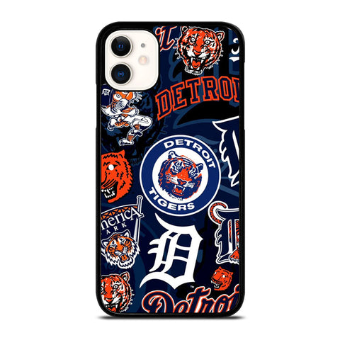 DETROIT TIGERS BASEBALL COLLAGE iPhone 11 Case Cover