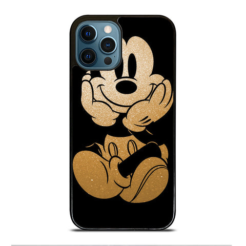 DISNEY MICKEY MOUSE GOLD iPhone 12 Pro Max Case Cover