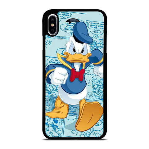 DISNEY DONALD DUCK COMIC iPhone XS Max Case Cover