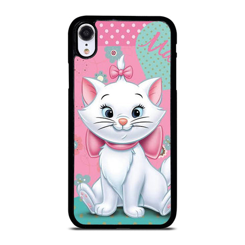 DISNEY MARIE THE ARISTOCATS CAT CUTE iPhone XR Case Cover