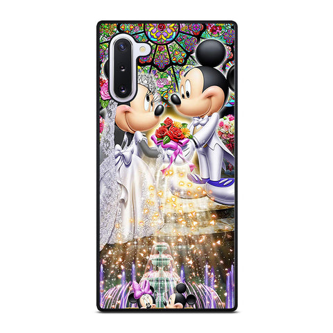 DISNEY MICKEY AND MINI MOUSE Wedding Samsung Galaxy Note 10 Case Cover