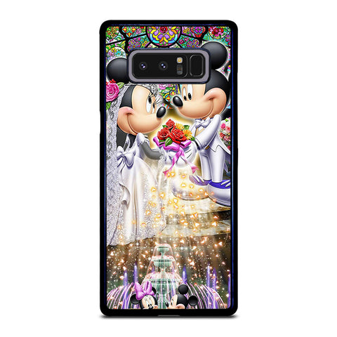 DISNEY MICKEY AND MINI MOUSE Wedding Samsung Galaxy Note 8 Case Cover