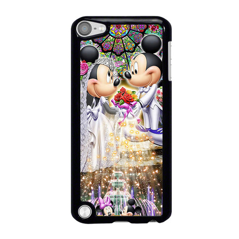 DISNEY MICKEY AND MINI MOUSE Wedding iPod Touch 5 Case