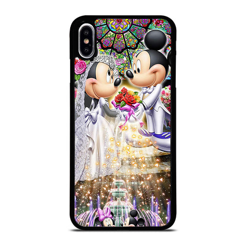 DISNEY MICKEY AND MINI MOUSE Wedding iPhone XS Max Case Cover