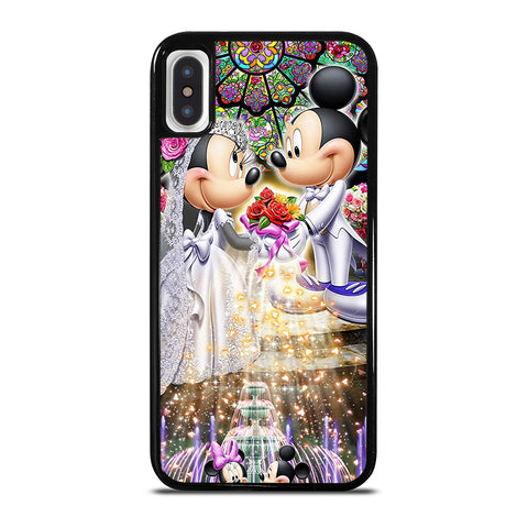 DISNEY MICKEY AND MINI MOUSE Wedding iPhone X / XS Case Cover