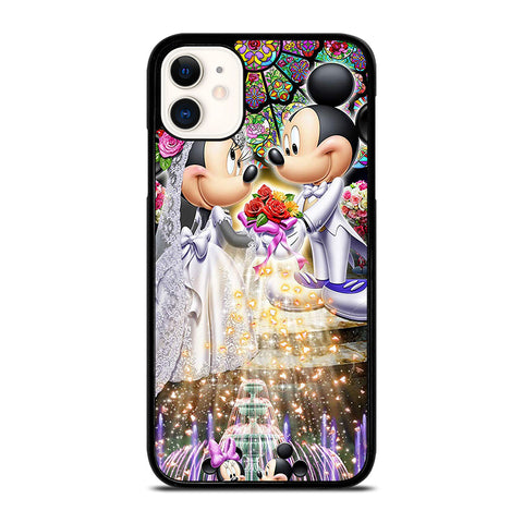 DISNEY MICKEY AND MINI MOUSE Wedding iPhone 11 Case Cover