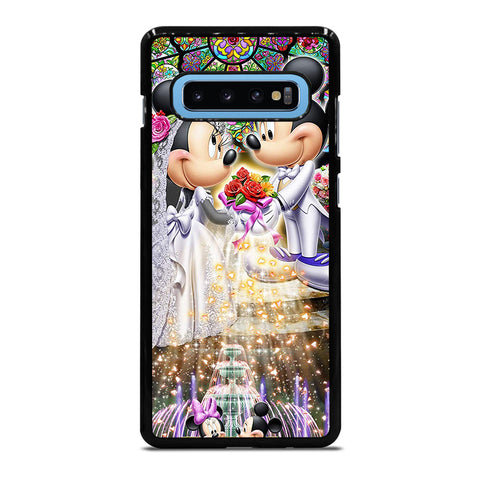 DISNEY MICKEY AND MINI MOUSE Wedding Samsung Galaxy S10 Plus Case Cover