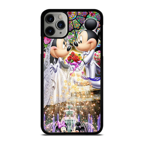 DISNEY MICKEY AND MINI MOUSE Wedding iPhone 11 Pro Max Case Cover