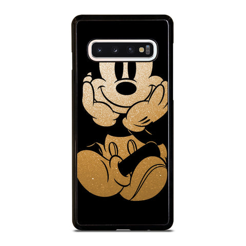 DISNEY MICKEY MOUSE GOLD Samsung Galaxy S10 Case Cover