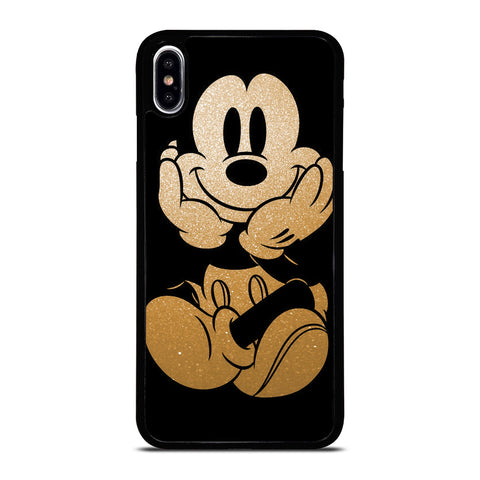 DISNEY MICKEY MOUSE GOLD iPhone XS Max Case Cover