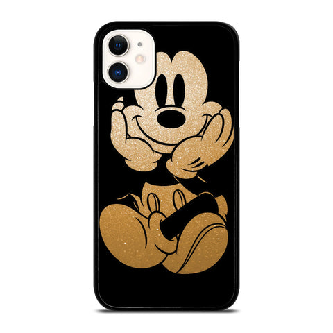 DISNEY MICKEY MOUSE GOLD iPhone 11 Case Cover
