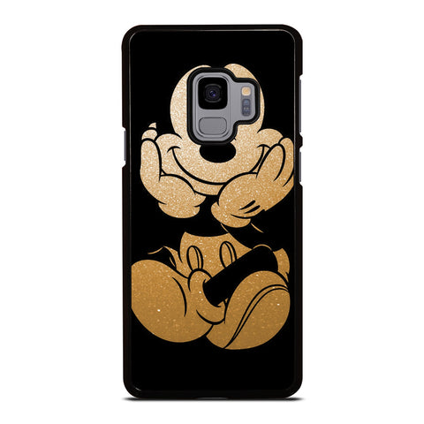 DISNEY MICKEY MOUSE GOLD Samsung Galaxy S9 Case Cover