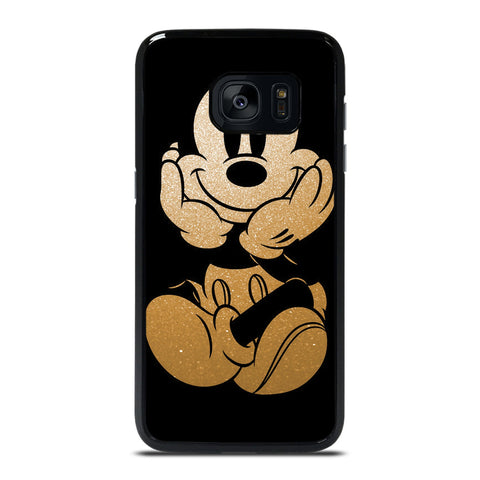 DISNEY MICKEY MOUSE GOLD Samsung Galaxy S7 Edge Case Cover