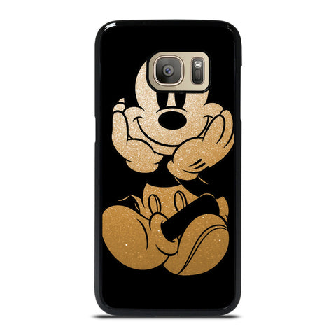 DISNEY MICKEY MOUSE GOLD Samsung Galaxy S7 Case Cover