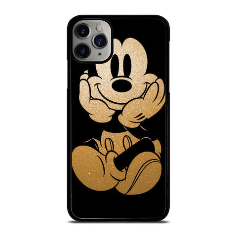 DISNEY MICKEY MOUSE GOLD iPhone 11 Pro Max Case Cover