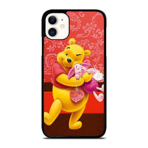 DISNEY WINNIE THE POOH AND PIGIET iPhone 11 Case Cover