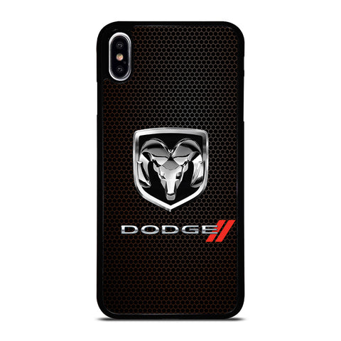 DODGE RAM LOGO METAL iPhone XS Max Case Cover
