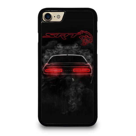 DODGE SRT CHALLENGER HELLCAT BLACK iPhone 7 / 8 Case Cover