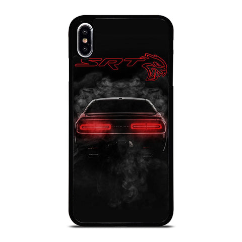 DODGE SRT CHALLENGER HELLCAT BLACK iPhone XS Max Case Cover