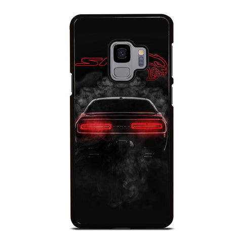 DODGE SRT CHALLENGER HELLCAT BLACK Samsung Galaxy S9 Case Cover