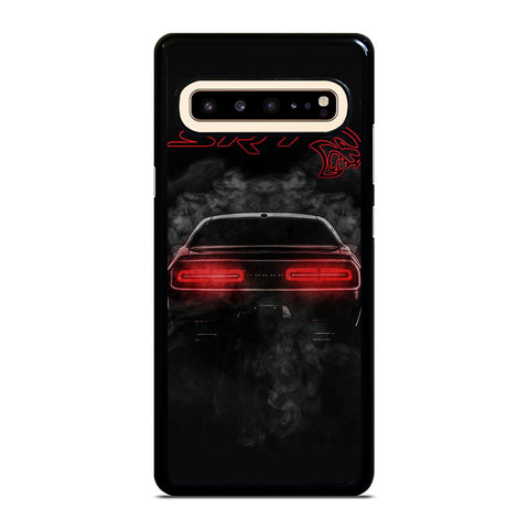 DODGE SRT CHALLENGER HELLCAT BLACK Samsung Galaxy S10 5G Case Cover