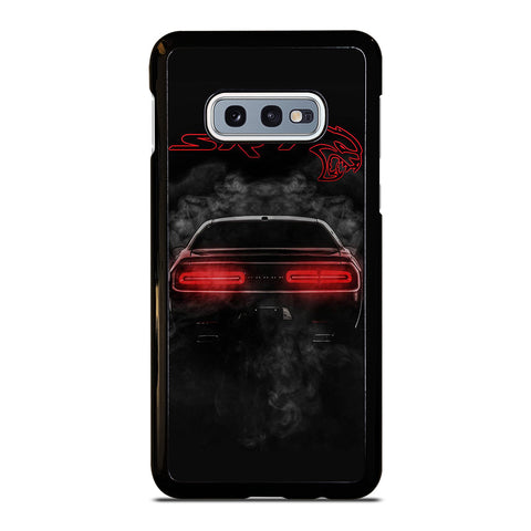 DODGE SRT CHALLENGER HELLCAT BLACK Samsung Galaxy S10e Case Cover