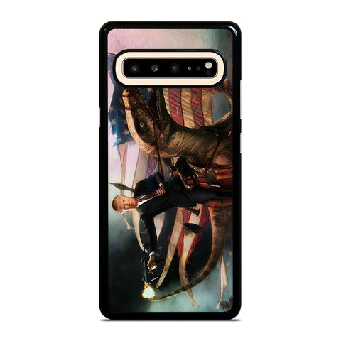 DONALD TRUMP AMERICAN RAPTOR Samsung Galaxy S10 5G Case Cover